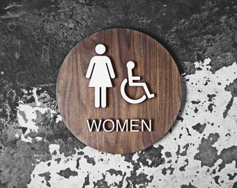 Bathroom Sign Size modern office restroom signs wc signage 6 x 6