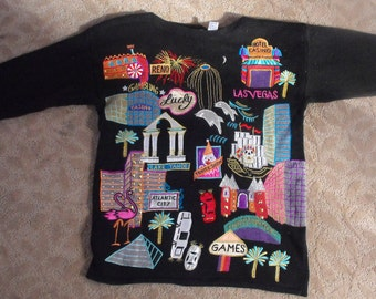 Sandylo Lucky Gambling Sweater (one size) casino, luck, entertainment, fun
