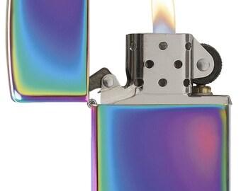 Rainbow Alien Zippo Lighter