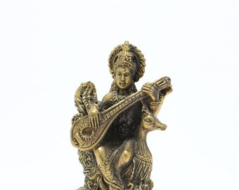 Thai Amulet statue Goddess Lakshmi ,Rich and Luck Good Business.