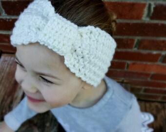 Textured Toddler Headband/Ear warmer 12 month-5T