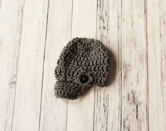Crochet Baby Hat, Infant Boy Hat, Newsboy Beanie, Baby Newsboy, Coming Home Outfit, Baby Shower Gift, Photo Prop, Newborn Hat