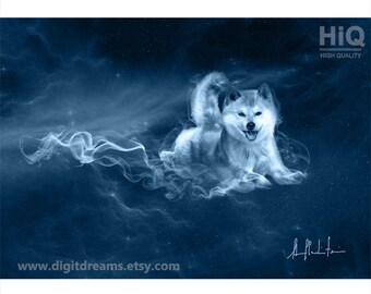 S409: Shamanic Guardians -  Shiba Inu Dog
