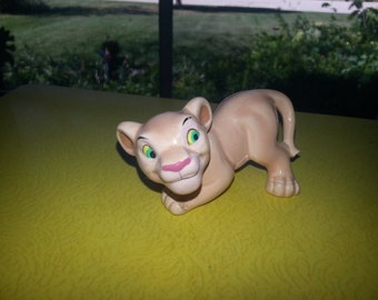 "Vintage 1950s Walt Disney Productions The Lion King ""Baby Nala"" Small Figurine"