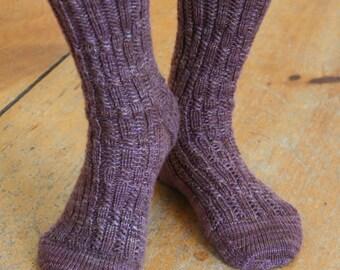 Two-Block Socks Knitting Pattern (Digital Download)