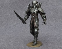 Imlerith 1/32 Scale General of the Wild Hunt the Witcher 3 Toy Soldier 54mm Hand Painted Pewter Miniature Statue Action Figurine #Wh-01