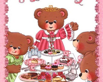 Tea Party Personalized Kids Books