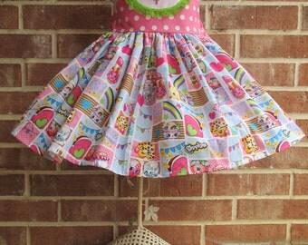 Shopkins Birthday, Shopkins dress, Shopkins outfit