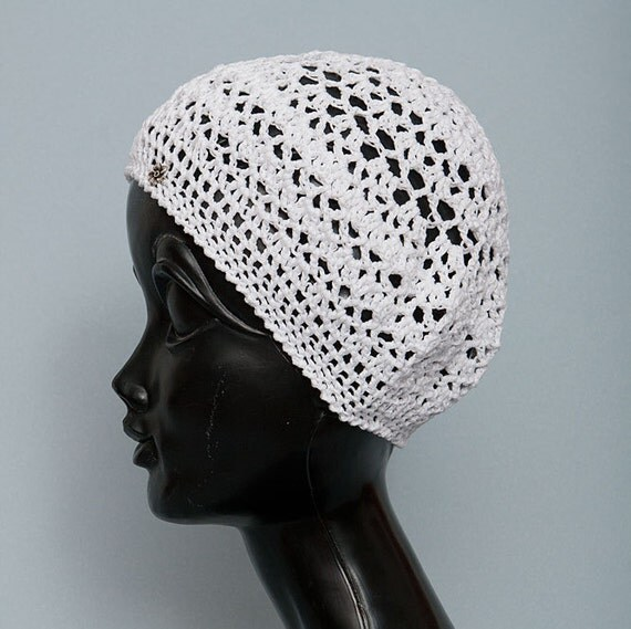 sale cotton crochet hat beret summer womens by juliahats