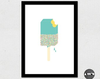 Ice Cream! Ice Cream! A4 Prints