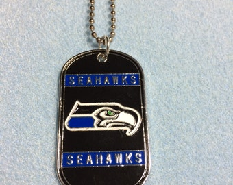 """Seahawk 24"""" Ball Chain Necklace"""