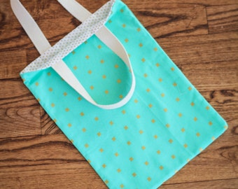 Kids' Tote, Child Tote, Library Tote