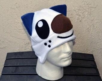 Oshawott Pokemon Fleece Hat with Earflaps