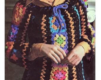 Crochet Sweater Pattern Crochet Top Pattern Crochet Granny Square Top Pattern Crochet Granny Top Pattern
