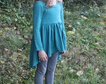 Kid Tulip Dress / Organic Cotton and Hemp