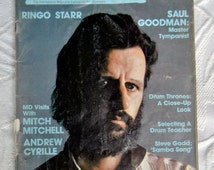 Modern Drummer/Dec/81-Jan/82:  Feature Drummer Ringo Starr