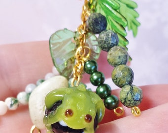 Frog Necklace ~ Gifts For Mom, Gift For Girlfriend, Coworker Gift ~ Layering Necklace, Boho Necklace, Signature Jewelry ~ Stocking Stuffer