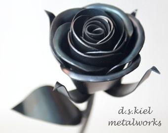 Steampunk Rose, Steampunk Flower, Steampunk Wedding, Gift for Him, Metal Rose, Steampunk Flower, Steampunk Rose