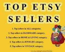 Top Etsy sellers Top selling shops Most popular shop Best sellers Handmade shops Vintage shops Home & Living shops Jewelry shops