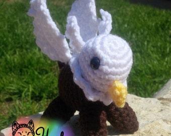 Crochet Chubby Gryphon