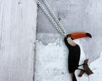 Toucan Bird Necklace