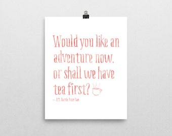 Disney Wall Quotes - Pink or Black - Wall Quotes - Peter Pan