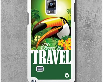 Samsung Galaxy Note 4 Case Bird Toucan Travel