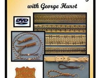 Leathercraft DVD Introduction to leather braiding by George Hurst