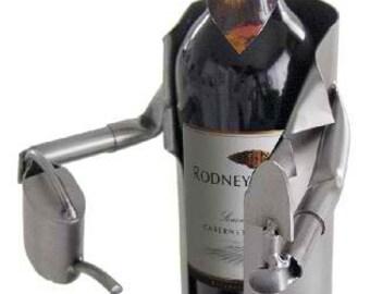Green Thumb Wine Bottle Holder