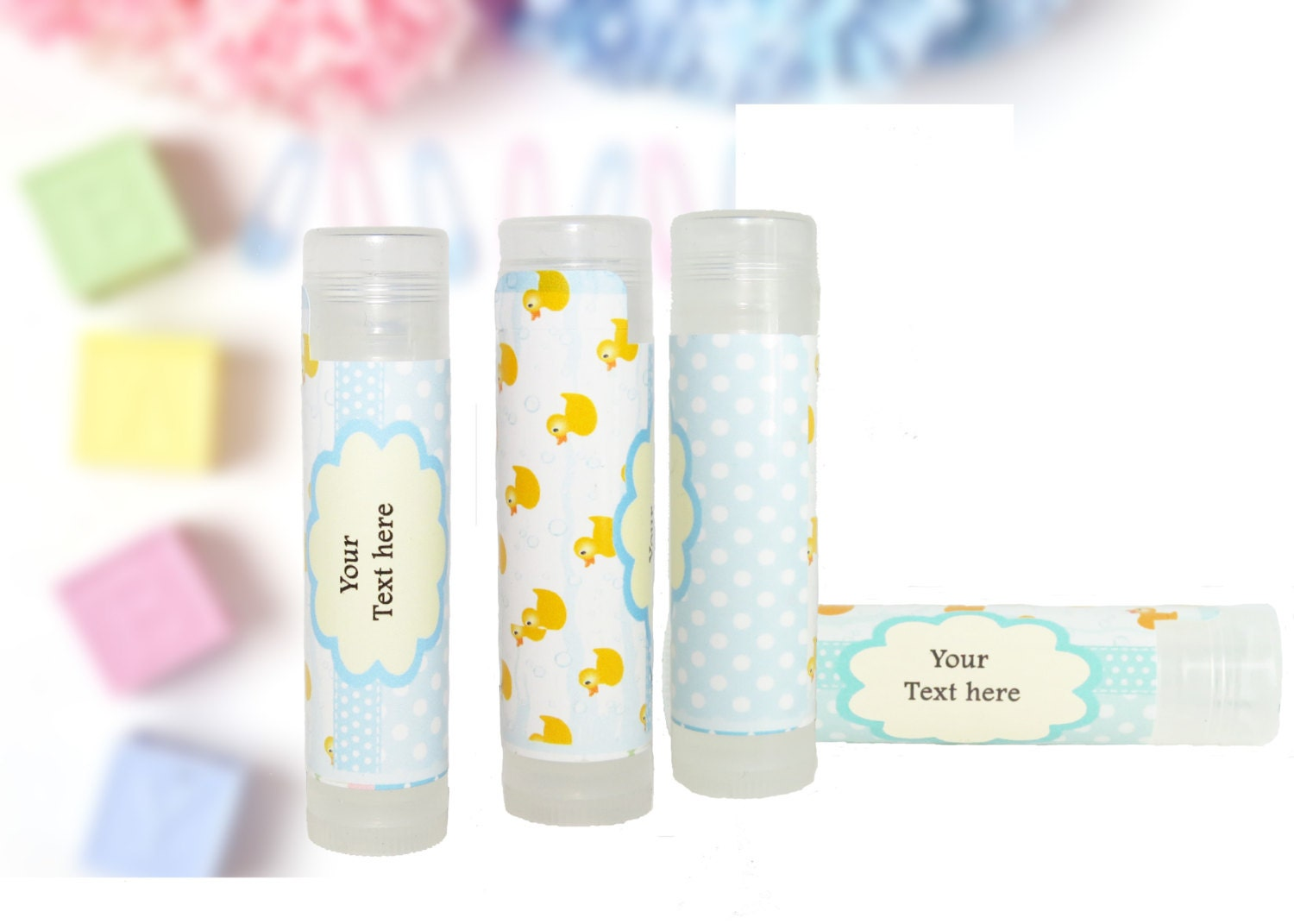 baby shower party favors lip balms baby shower ducks baby