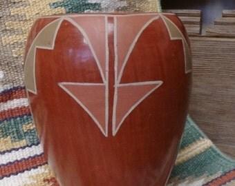 Agapita Tafoya (1904-1959) - Santa Clara Pottery -  [#218 - LR - cabinet]