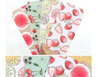 Fruits Envelopes Pack of 5