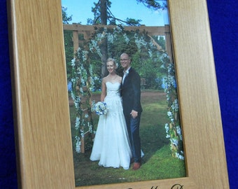 Parents Of The Groom Gift ~ Mother Of The Groom ~ Father Of The Groom ~ Wedding Frame ~ Picture Frames ~ Parents Of Groom Gift ~ 8x10 Frame