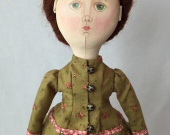 Old Fashioned Lady Doll.