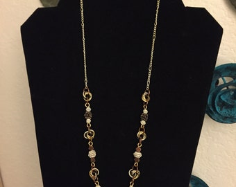 Multiple Metal Chainmaille Necklace and Earrings