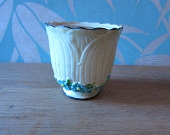 Vintage Maruhon Ware, Japan, ceramic jar/planter