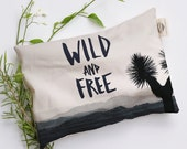 Wild and Free, Heat Pad, Relaxation Pillow, Microwavable / Washable Heat Pack