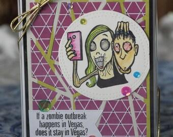 Handmade Zombie Card Set