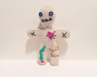 Knit Voodoo Doll Horror Amigurumi