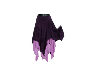 Enchantment Fairy Skirt in Purple Violet