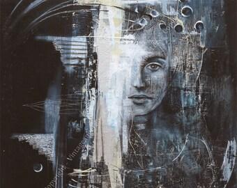 Downsides - art print - 21x29cm fine art print