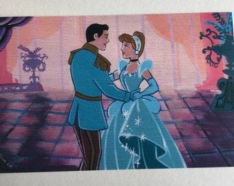 Cinderella dancing PRINT