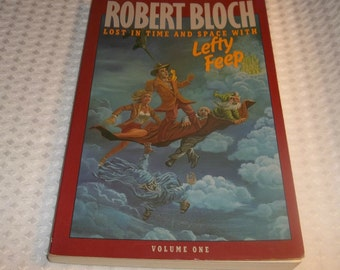 ROBERT BLOCH Lefty Feep Book Lost In Time And Space With Lefty Feep Vol 1