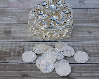Wedding Unity Coins, Wedding Arras, Arras de Boda, Arras, Wedding Coins, Arras para Boda