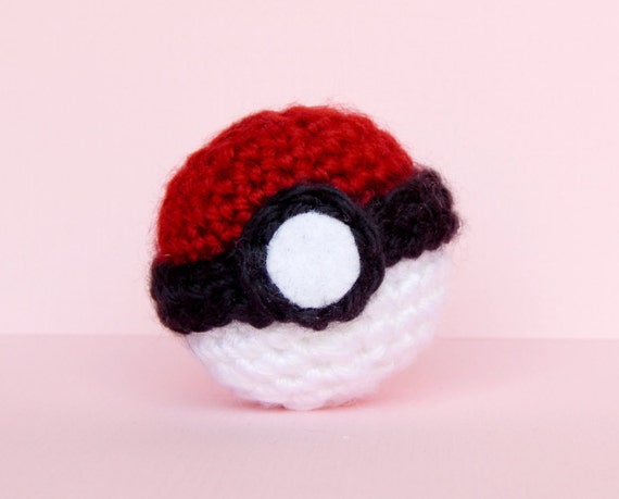 Amigurumi Master Ball : Pokeball Plush Pokeball Amigurumi Mini Pokeball Pokeball