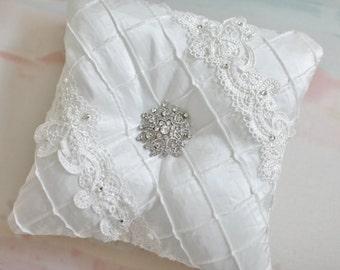 Tufted Ring Bearer Pillow