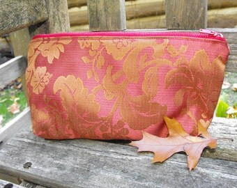 toiletry bag, zippered pouch, gift for him, gift for her, cosmetic bag, special occasion, make up bag, pencil bag, zippered purse, accessory