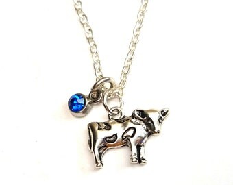 Cow Necklace, Cow Jewelry, Cow Charm, Cow Pendant, Farmers Wife, Farmers Daughter, Gift for Farmer, Farmer Jewelry, Farmers Gifts, Cow Girl
