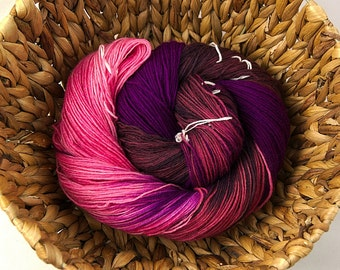 Poem - Handdyed merino nylon superwash sock yarn