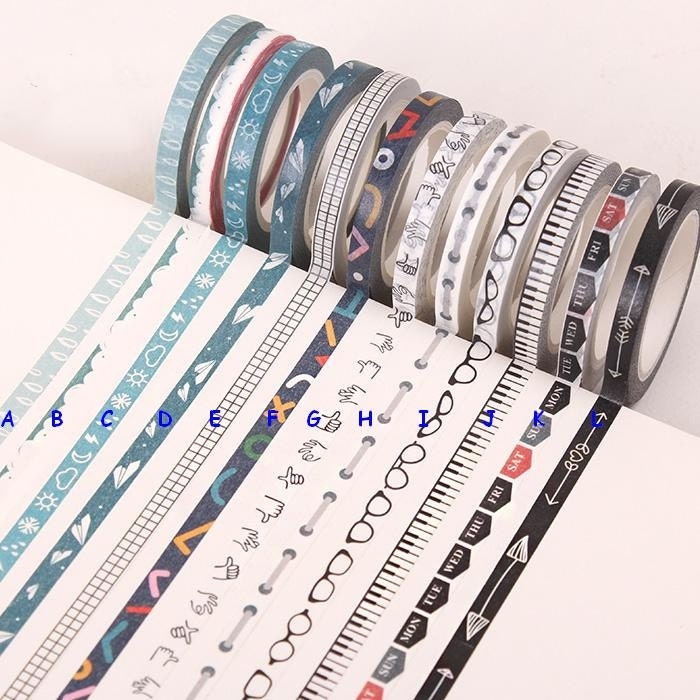 Mince ruban adh sif 5mmx10m masking tape japonais washi - Masking tape traduction ...